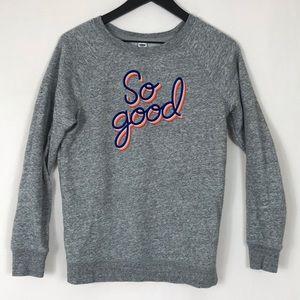 Old Navy SO GOOD Crewneck Soft Sweatshirt